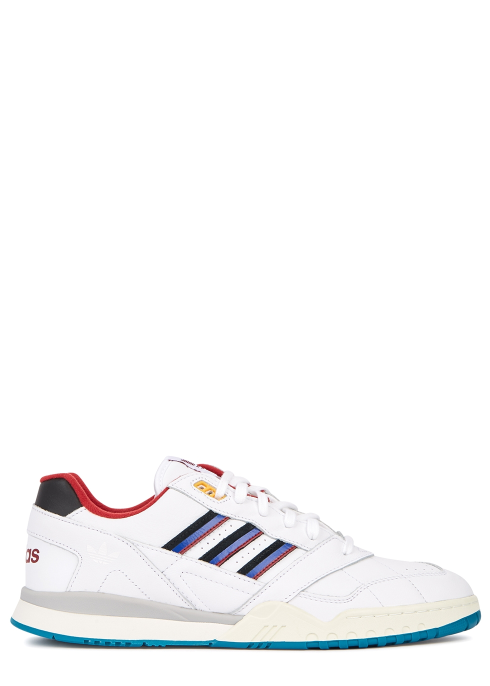 White A.R leather sneakers