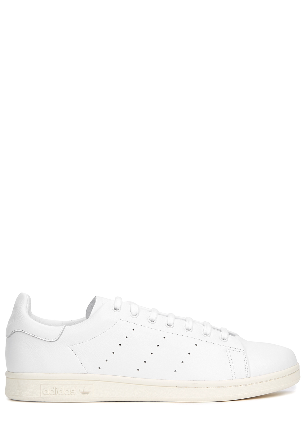 adidas Originals Stan Smith white leather trainers Harvey