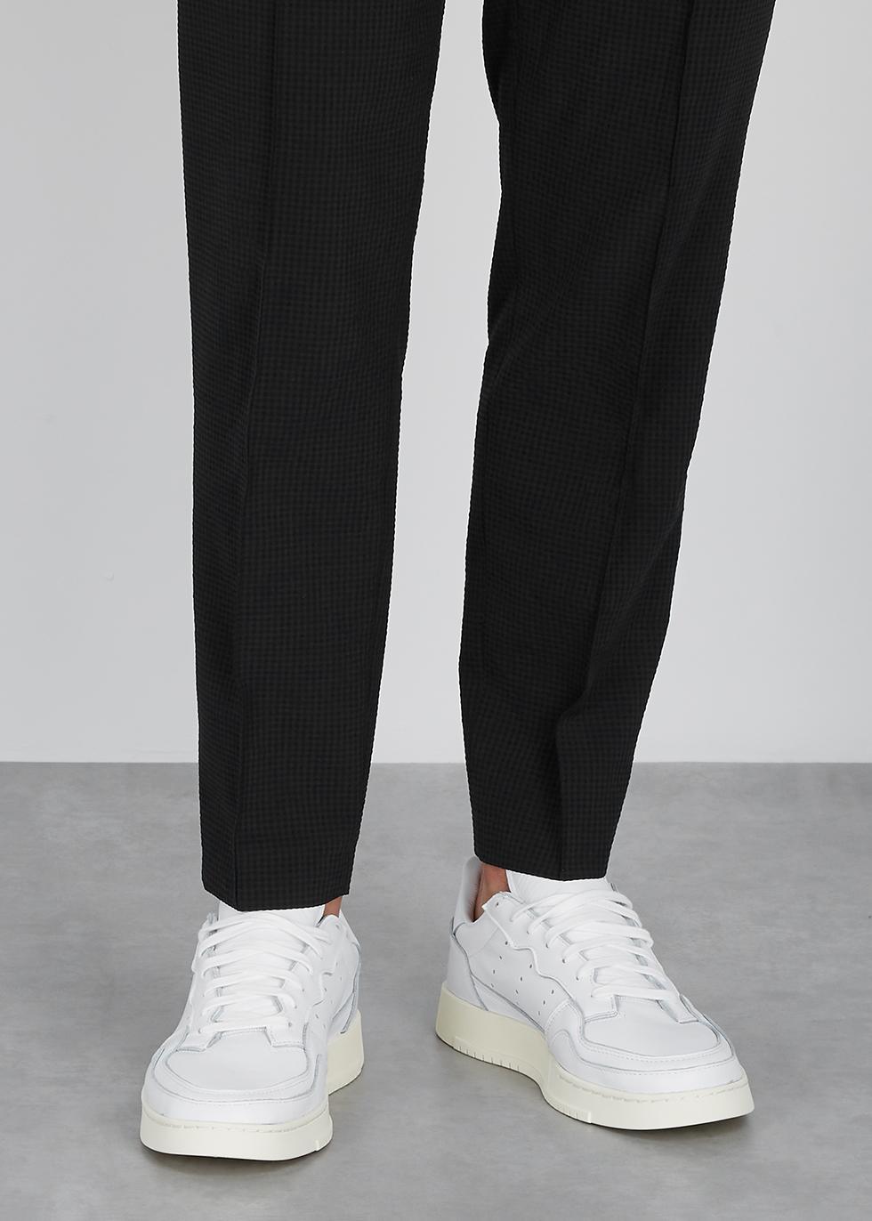 adidas Originals Supercourt white leather sneakers Harvey