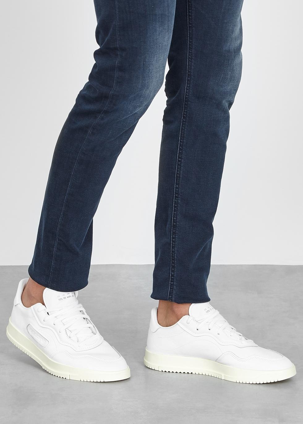 adidas Originals SC Premiere white leather sneakers Harvey