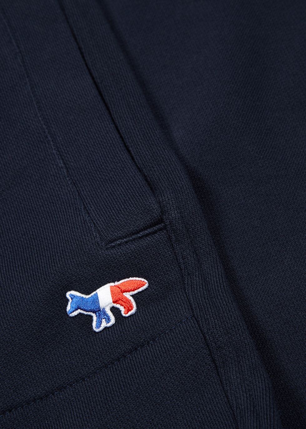 Navy cotton sweatpants - Maison Kitsuné