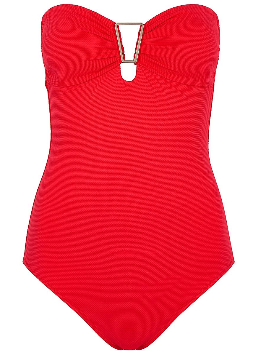 81e8e61b05ed2 Argentina red bandeau swimsuit Argentina red bandeau swimsuit. New Season. Melissa  Odabash