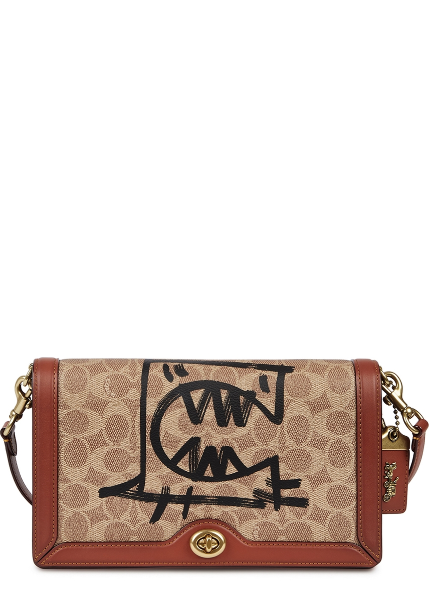 13dc1d338419 X Guang Yu Riley monogrammed cross-body bag ...