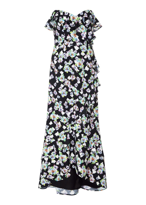 7ced729e88 Floral flounce dress Floral flounce dress