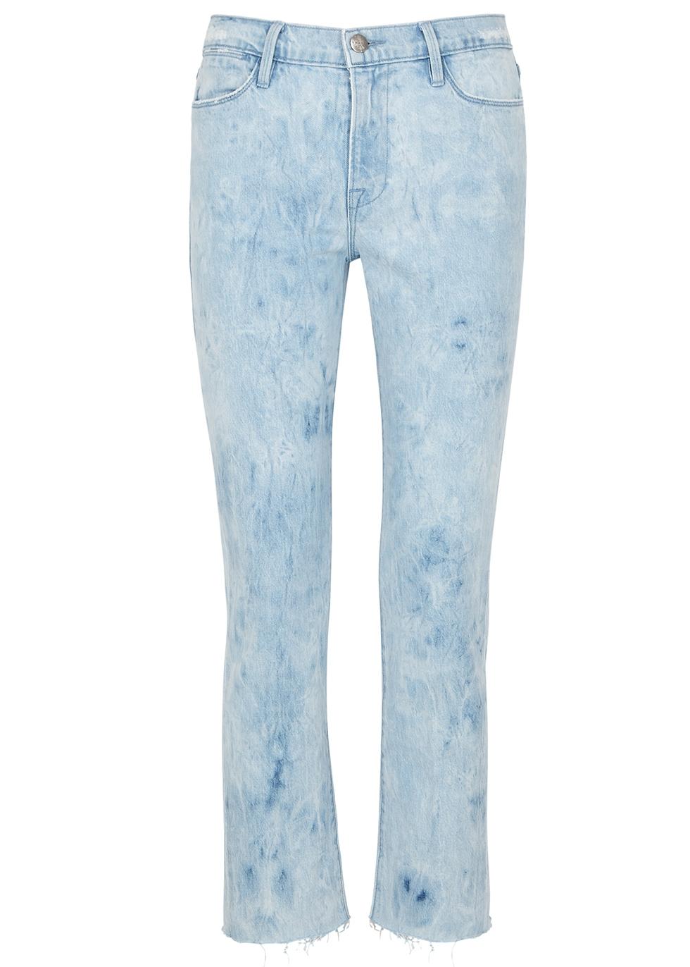 Le High Straight pale blue jeans - Frame Denim