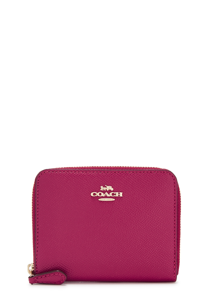 909fb8ccc0c Raspberry leather wallet