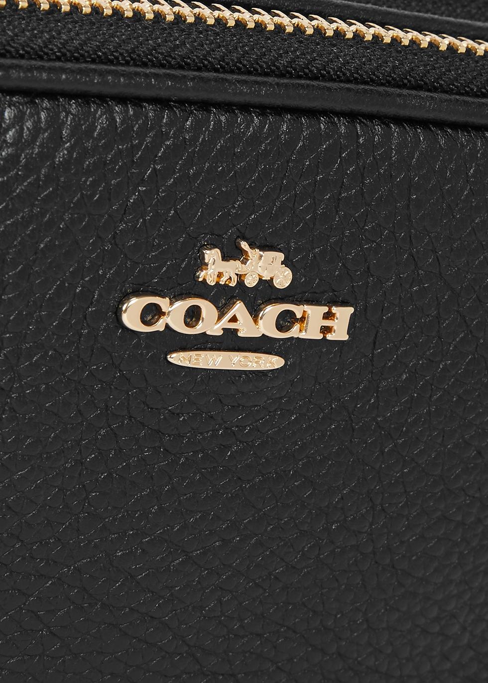 Sadie black leather cross-body bag - Coach