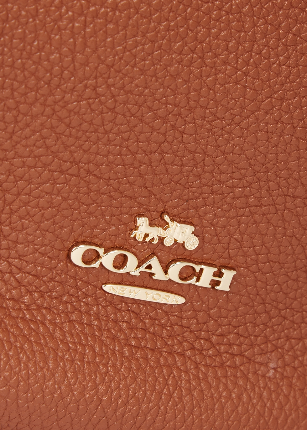 Lane brown leather satchel - Coach