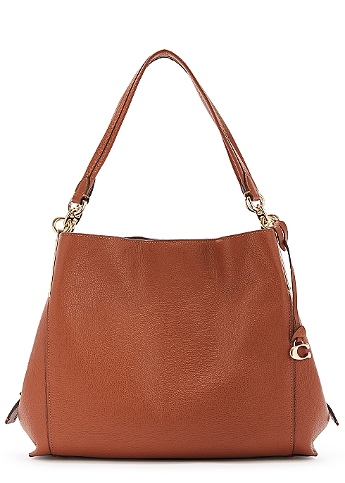 0fe11c03c4e Coach Dalton brown leather hobo bag - Harvey Nichols