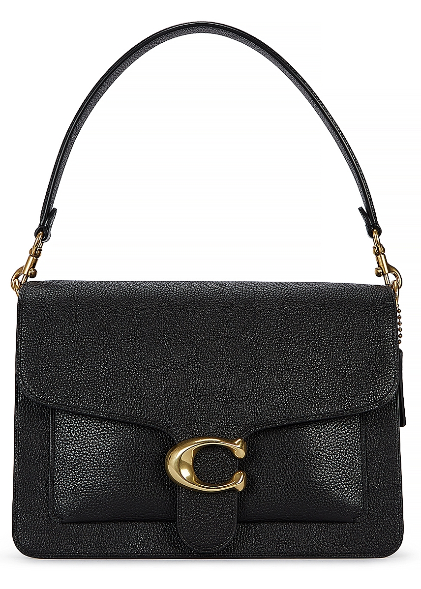 6870a7f735aad Tabby black grained leather shoulder bag Tabby black grained leather  shoulder bag. New Season. Coach