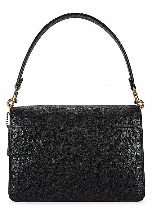 27eb10d7c4a2 Coach Tabby black grained leather shoulder bag - Harvey Nichols