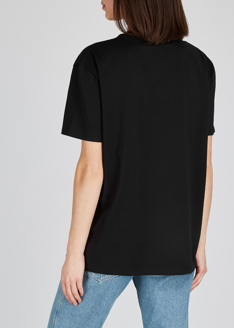 Glow-in-the-dark printed cotton T-shirt - Givenchy