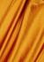 Golden orange satin slip dress - Vince