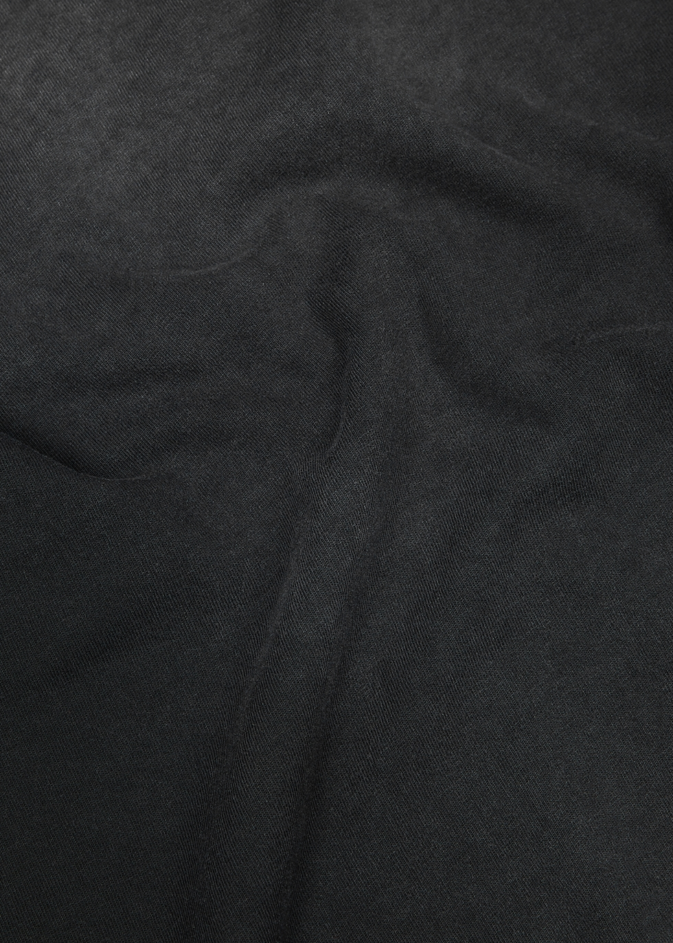 Sundrenched black cotton T-shirt - John Elliott
