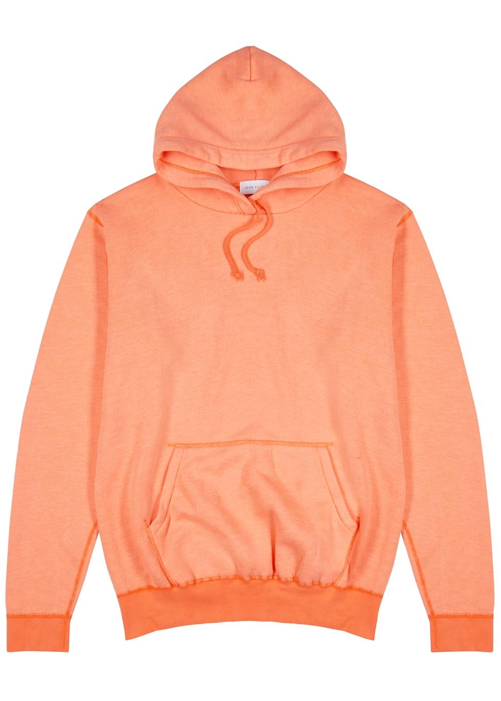 Orange cotton-blend sweatshirt - John Elliott