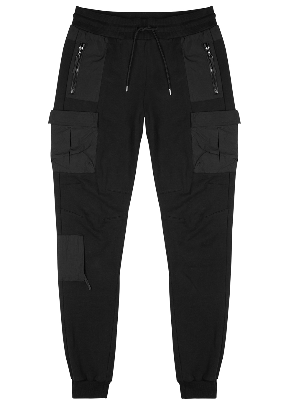 Black cotton jersey sweatpants - John Elliott