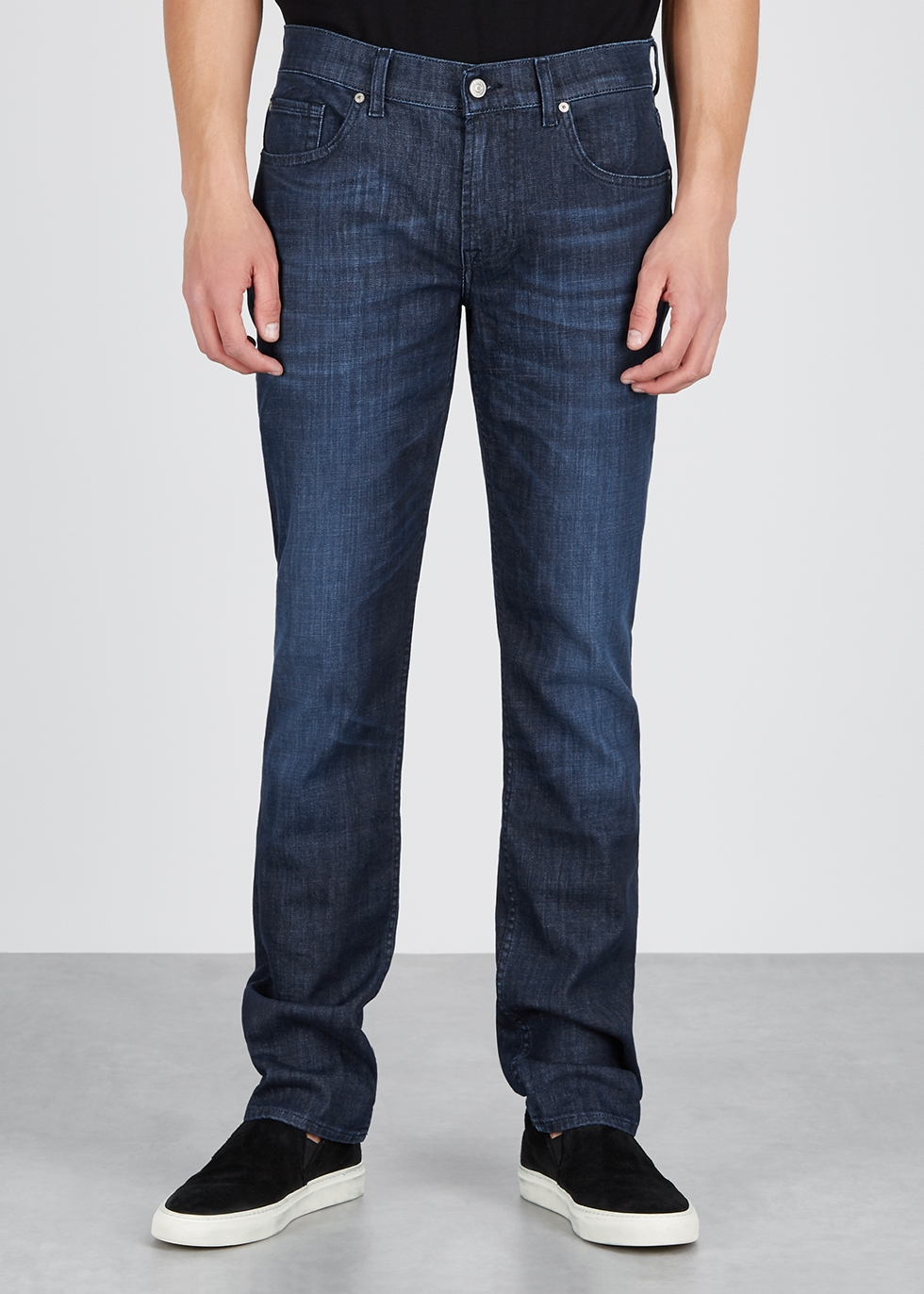 Slimmy Weightless slim-leg jeans - 7 For All Mankind
