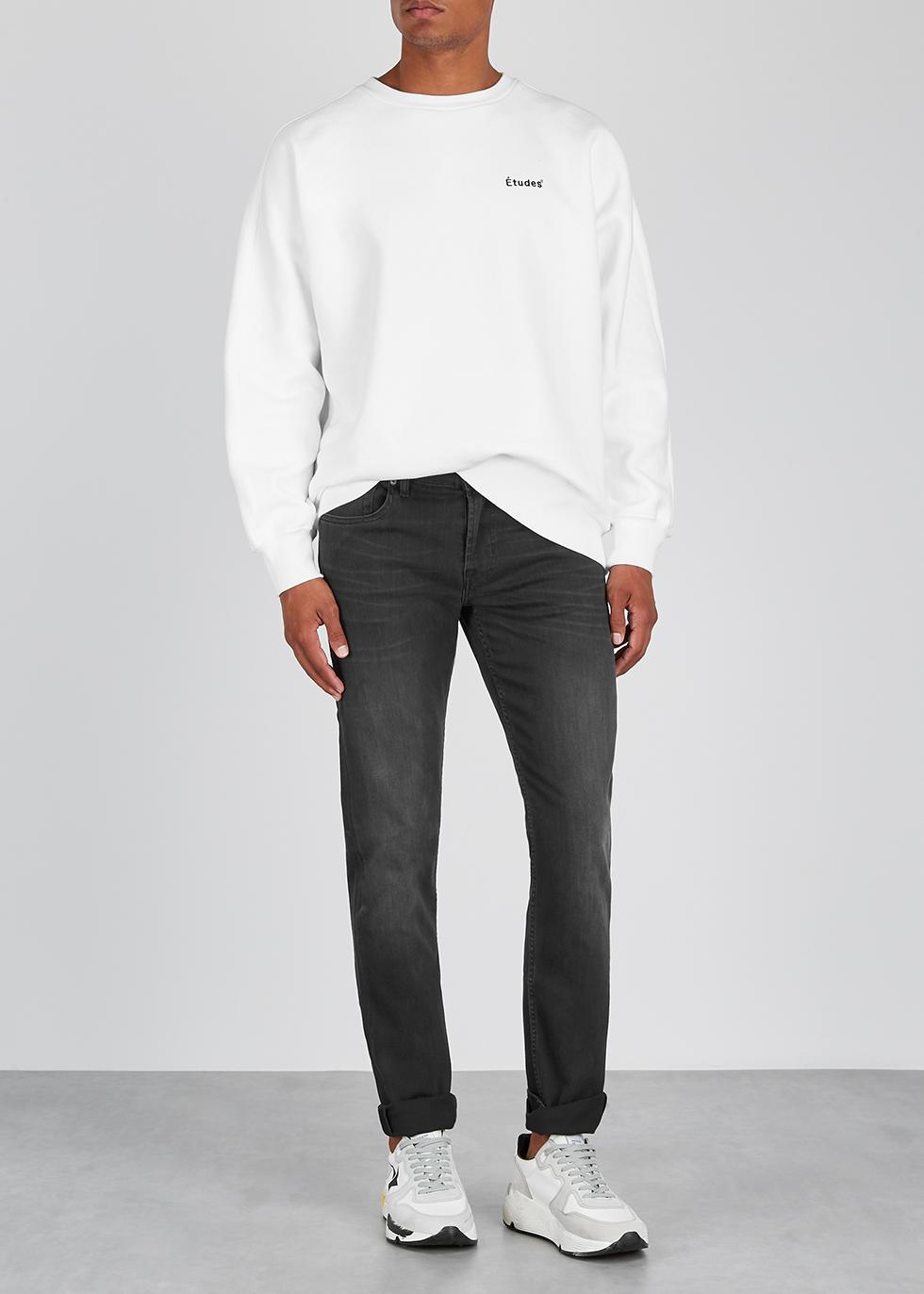 Slimmy black slim-leg jeans - 7 For All Mankind