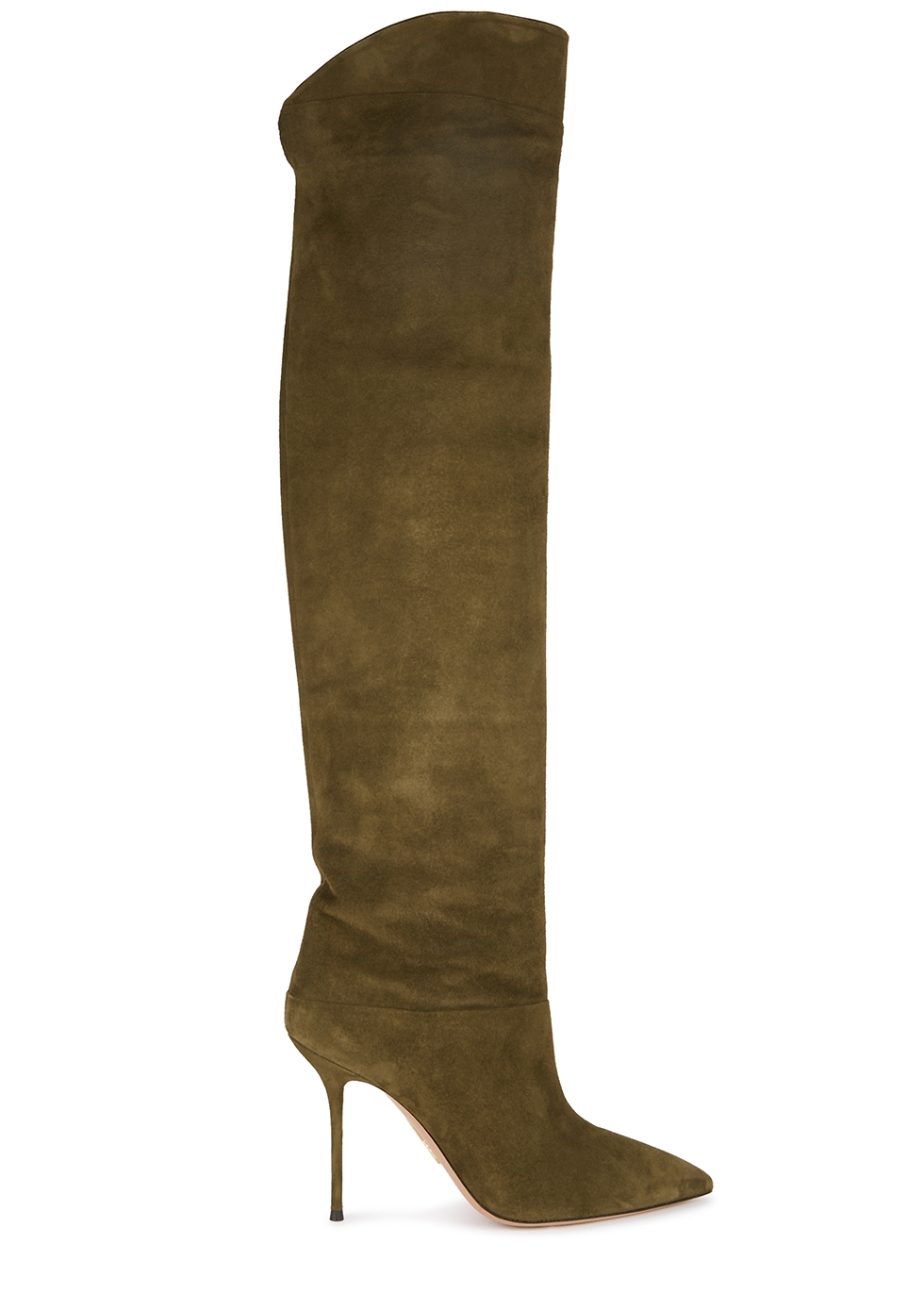 Aquazzura Overknee Stiefel Lancaster 95 | Mytheresa