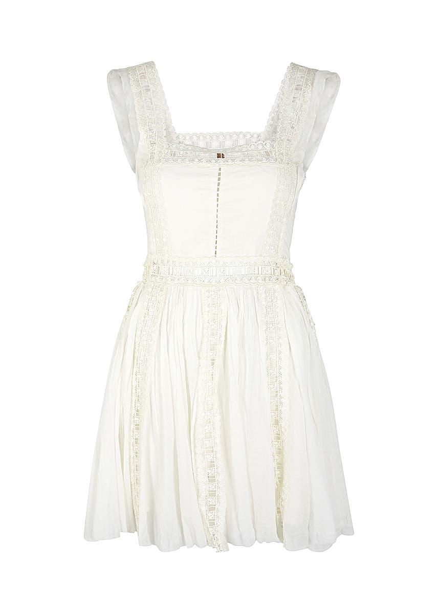 8a9d6edee Verona off-white cotton mini dress Verona off-white cotton mini dress. New  Season. Free People