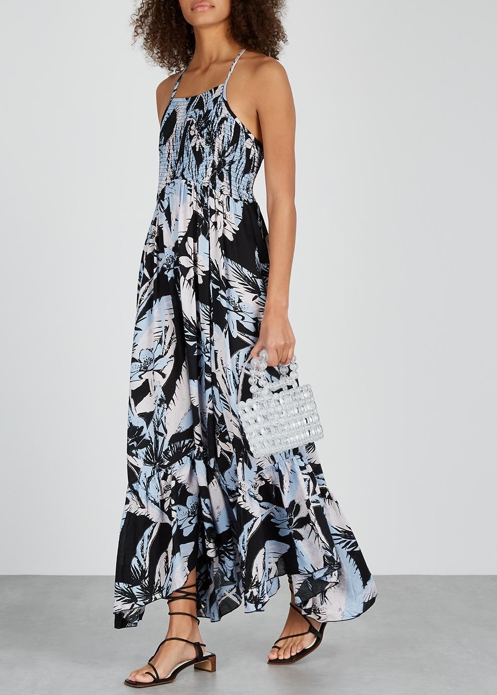 26037098c743d Free People Heat Wave floral-print maxi dress - Harvey Nichols