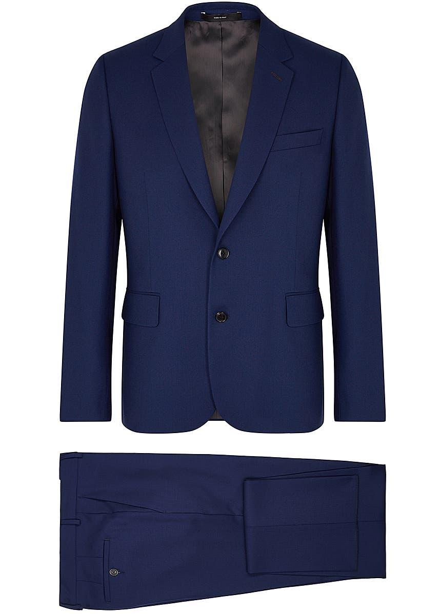 e351c5dbf5b679 Soho navy wool suit Soho navy wool suit. New Season. Paul Smith