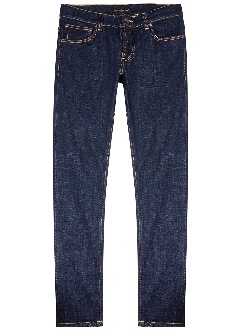Tight Terry slim-leg denim jeans