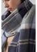 Classic tartan cashmere stole | silver bannockbane - Johnstons of Elgin