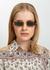 968 C2 rectangle-frame sunglasses - Linda Farrow Luxe