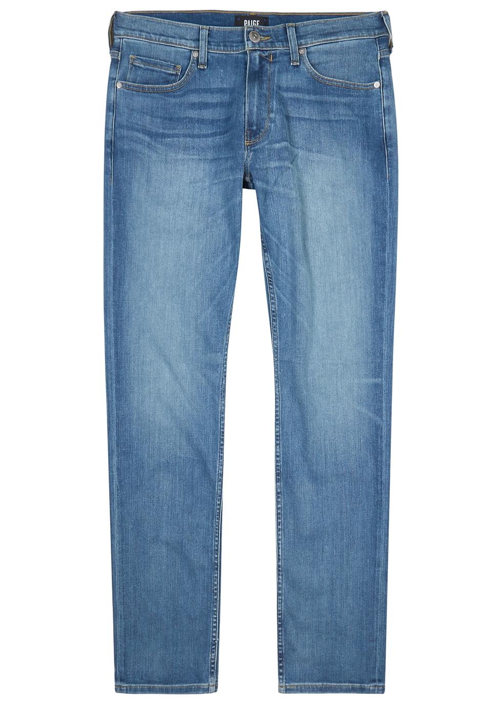 Lennox light blue slim-leg jeans
