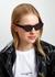 Black cat-eye sunglasses - Stella McCartney