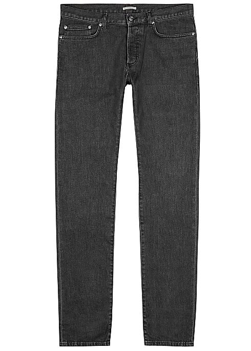 e12fead5f Dior Homme Anthracite slim-leg jeans - Harvey Nichols
