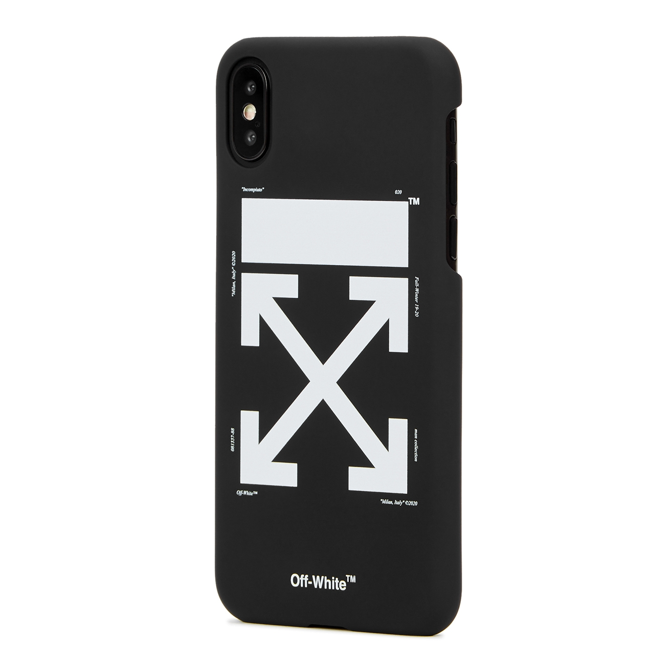 low priced a8bee 32484 Arrows matte black iPhone X case