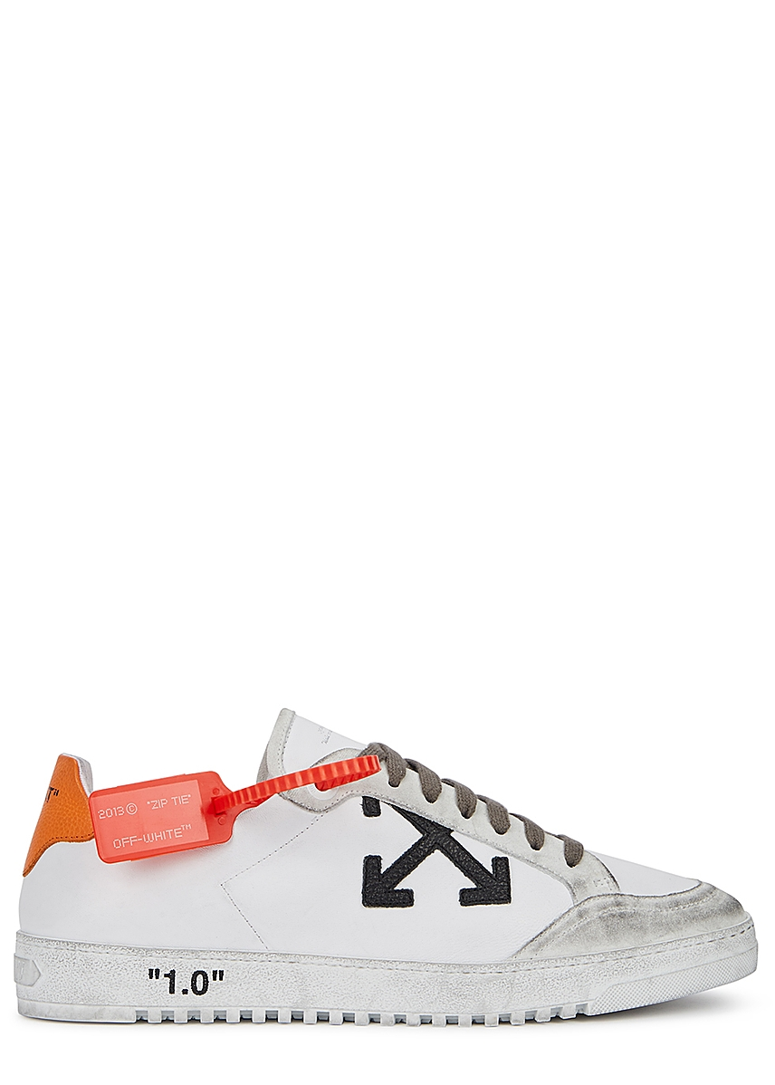 88a663b1ade Gucci. New Ace white leather trainers. £450.00 · 2.0 white distressed  leather trainers ...