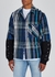 Blue brushed flannel jacket - Off-White