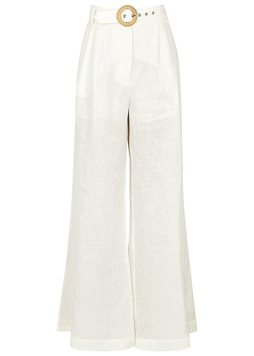 b680e8df7cfe Women's Wide Leg Trousers - Luxury Brands - Harvey Nichols