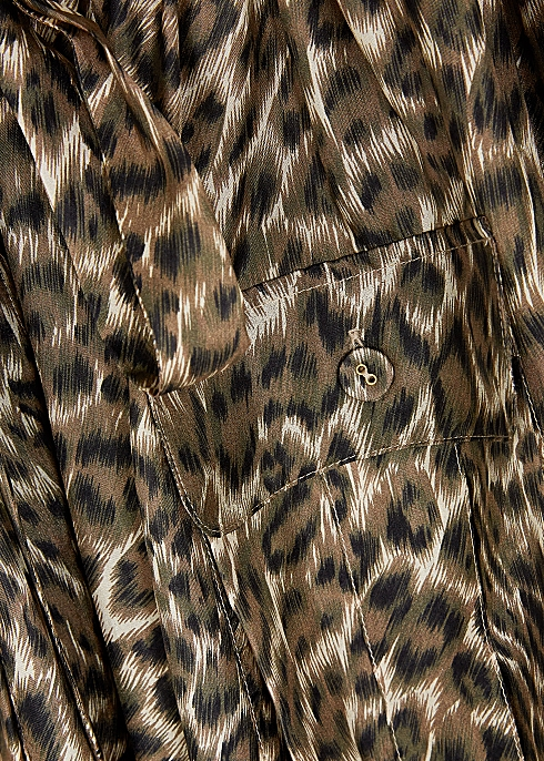 a32ced475cd5ad Zimmermann Suraya leopard-print silk blouse - Harvey Nichols