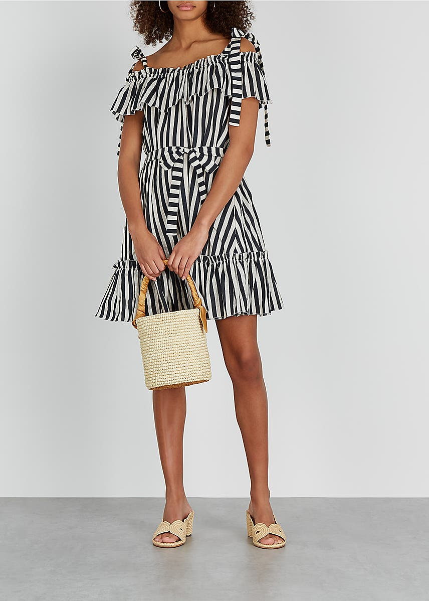148fe68daa42 Honour striped linen mini dress Honour striped linen mini dress. New  Season. Zimmermann