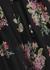 Honour black silk chiffon playsuit - Zimmermann