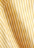 Yellow striped swimsuit - ASCENO