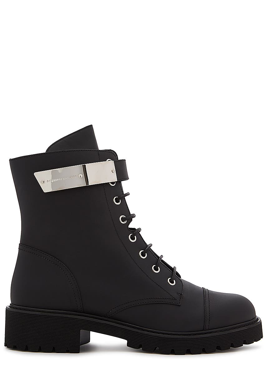 afd4306fadf4c 40 black leather ankle boots 40 black leather ankle boots. New In. Giuseppe  Zanotti. 40 black ...