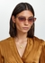 Sine-Type cat-eye sunglasses - CHRISTIAN ROTH