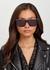 Souliner black D-frame sunglasses - DITA