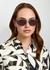 Nacht Two oval-frame sunglasses - DITA