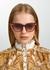 French Kiss cat-eye sunglasses - FOR ART'S SAKE