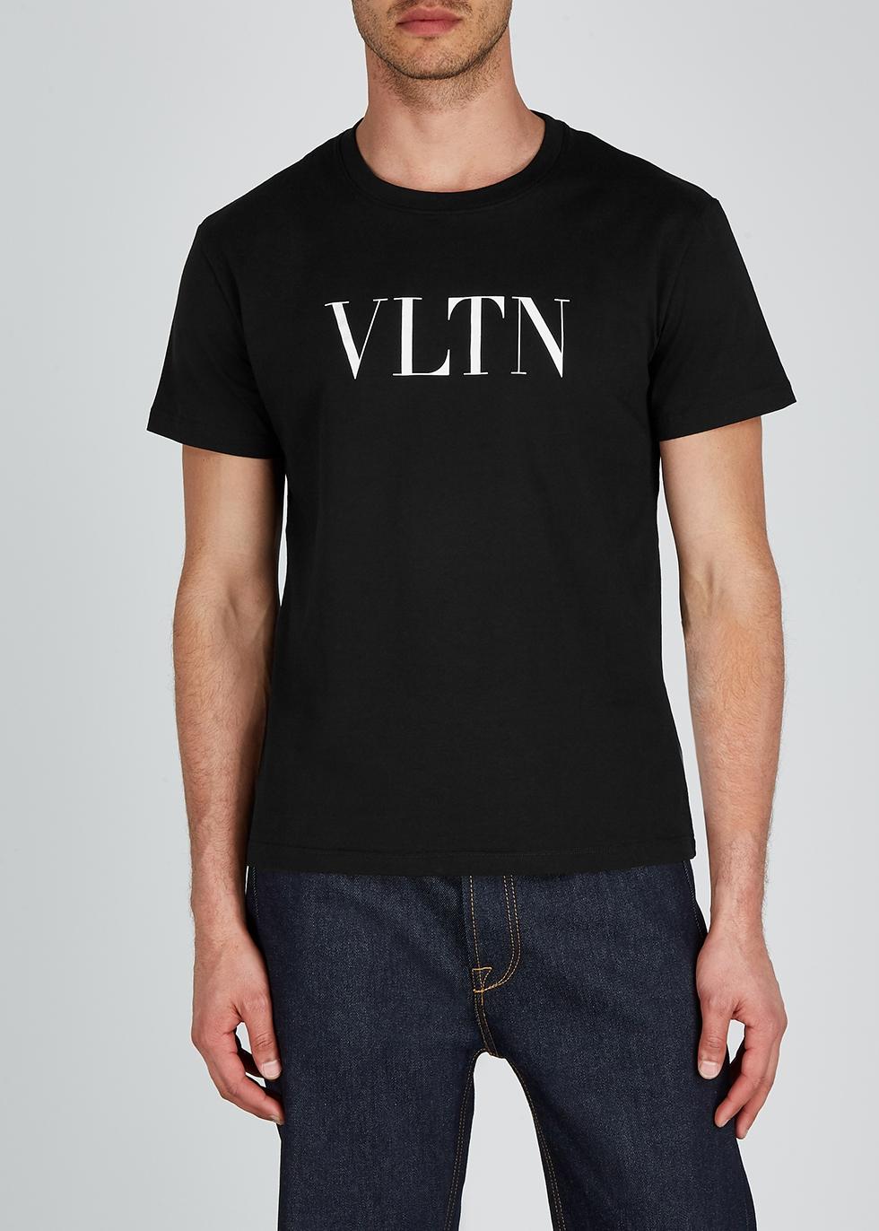 Black cotton T-shirt - Valentino