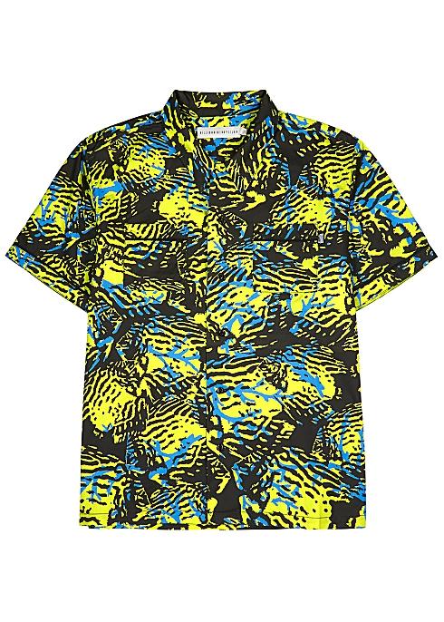 207067d04 Billionaire Boys Club Fish Camo printed cotton shirt - Harvey Nichols