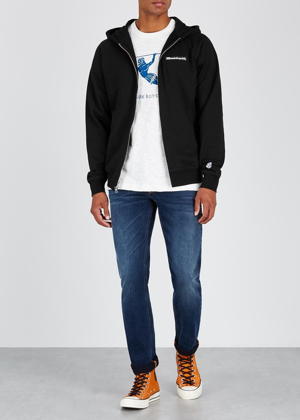 Black cotton-jersey sweatshirt - Billionaire Boys Club