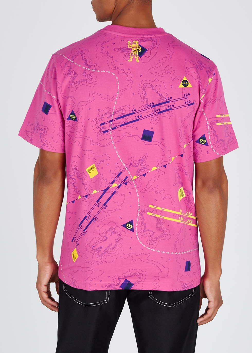 Nautical printed cotton-jersey T-shirt - Billionaire Boys Club