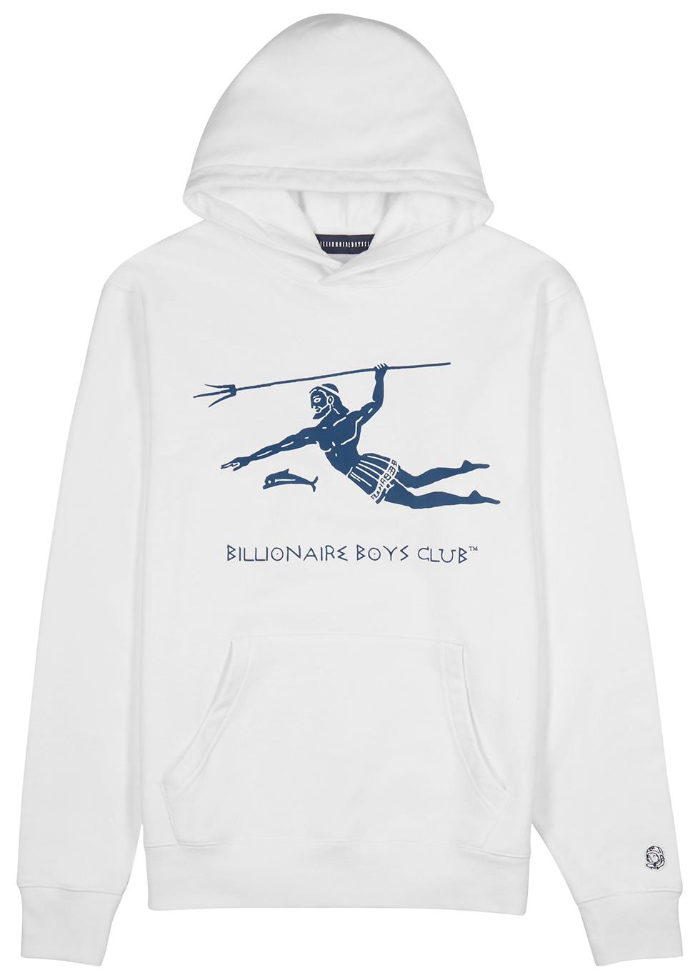 Billionaire Boys Club Neptune white jersey sweatshirt